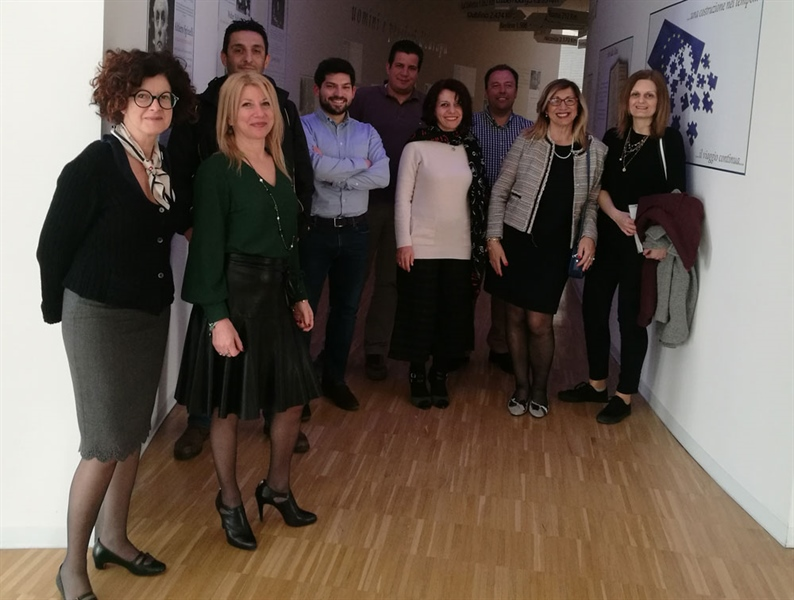 2nd Transnational Project Meeting (M2), Pescara, 5th of April, 2019