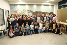 End of the training school in Athens and award of certificate to the pupils - Day 5